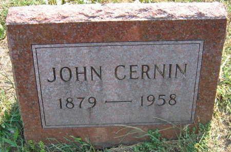 CERNIN, JOHN - Linn County, Iowa | JOHN CERNIN