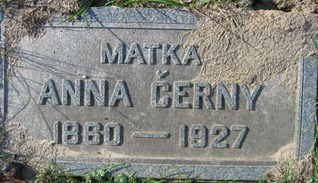 CERNY, ANNA - Linn County, Iowa | ANNA CERNY