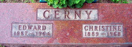CERNY, CHRISTINE - Linn County, Iowa | CHRISTINE CERNY