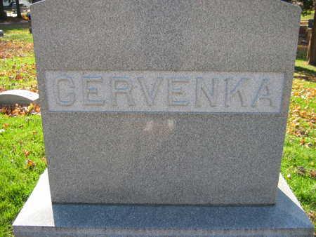 CERVENKA, FAMILY STONE - Linn County, Iowa | FAMILY STONE CERVENKA