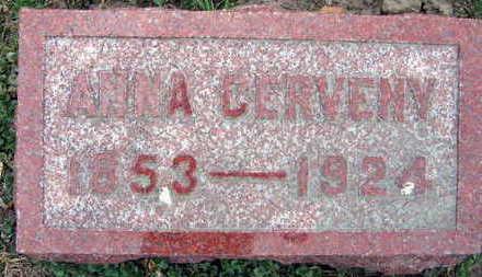CERVENY, ANNA - Linn County, Iowa | ANNA CERVENY