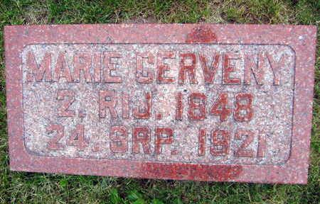 CERVENY, MARIE - Linn County, Iowa   MARIE CERVENY