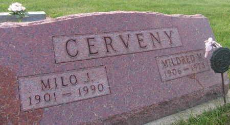 CERVENY, MILO J. - Linn County, Iowa | MILO J. CERVENY