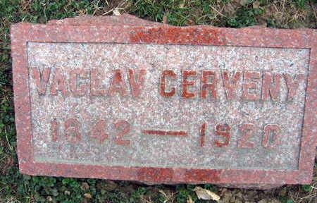 CERVENY, VACLAV - Linn County, Iowa | VACLAV CERVENY
