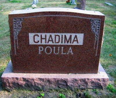 CHADIMA POULA, FAMILY STONE - Linn County, Iowa | FAMILY STONE CHADIMA POULA