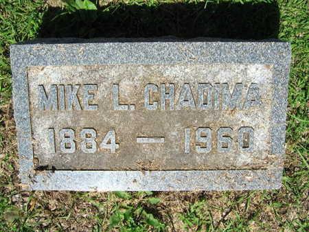 CHADIMA, MIKE L. - Linn County, Iowa | MIKE L. CHADIMA