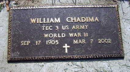CHADMIA, WILLIAM - Linn County, Iowa   WILLIAM CHADMIA