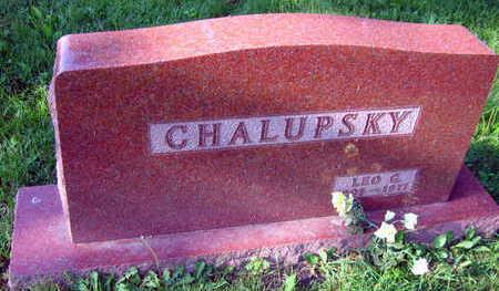 CHALUPSKY, LEO G. - Linn County, Iowa | LEO G. CHALUPSKY