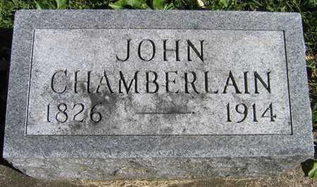 CHAMBERLAIN, JOHN - Linn County, Iowa | JOHN CHAMBERLAIN