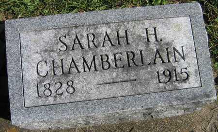 CHAMBERLAIN, SARAH H. - Linn County, Iowa | SARAH H. CHAMBERLAIN