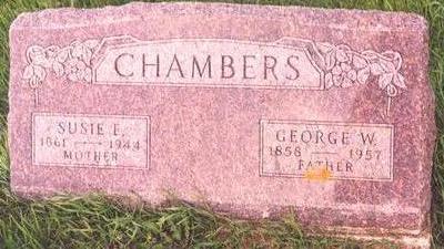 HARDESTY CHAMBERS, SUSAN ELIZABETH - Linn County, Iowa | SUSAN ELIZABETH HARDESTY CHAMBERS