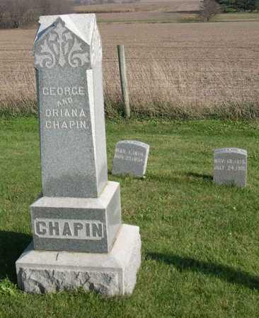 CHAPIN, GEORGE - Linn County, Iowa | GEORGE CHAPIN