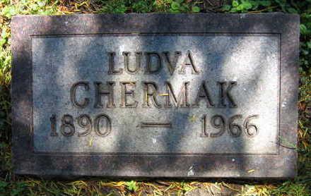 CHERMAK, LUDVA - Linn County, Iowa | LUDVA CHERMAK