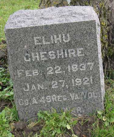 CHESHIRE, ELIHU - Linn County, Iowa | ELIHU CHESHIRE