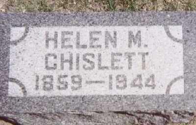 CHISLETT, HELEN M. - Linn County, Iowa | HELEN M. CHISLETT