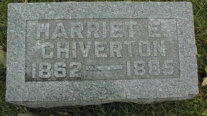 CHIVERTON, HARRIET E. - Linn County, Iowa | HARRIET E. CHIVERTON