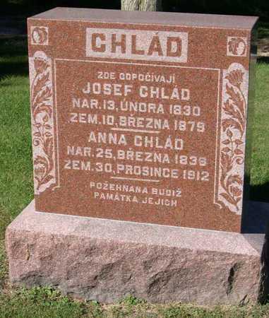 CHLAD, ANNA - Linn County, Iowa   ANNA CHLAD