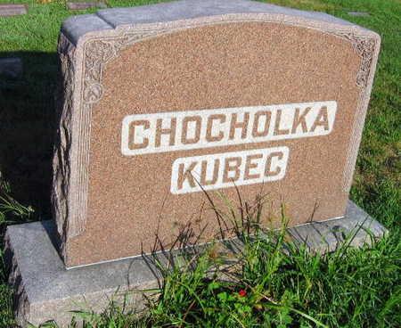 CHOCHOLKA KUBEC, FAMILY STONE - Linn County, Iowa | FAMILY STONE CHOCHOLKA KUBEC