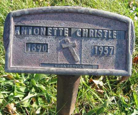 CHRISTLE, ANTONETTE - Linn County, Iowa   ANTONETTE CHRISTLE