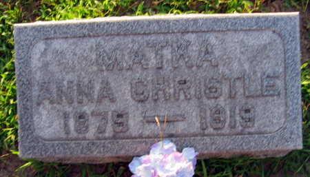 CHRISTLE, ANNA - Linn County, Iowa | ANNA CHRISTLE