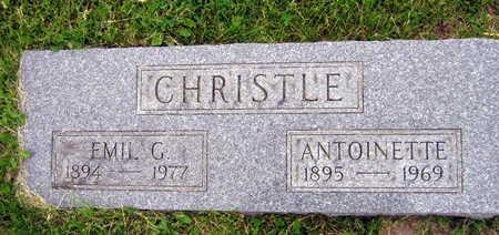 CHRISTLE, EMIL G. - Linn County, Iowa | EMIL G. CHRISTLE