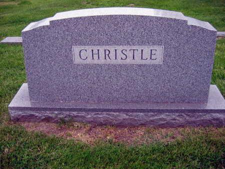 CHRISTLE, FAMILY STONE - Linn County, Iowa   FAMILY STONE CHRISTLE
