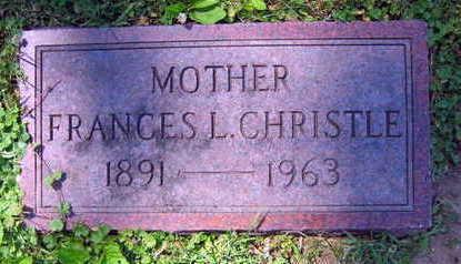 CHRISTLE, FRANCES L. - Linn County, Iowa | FRANCES L. CHRISTLE