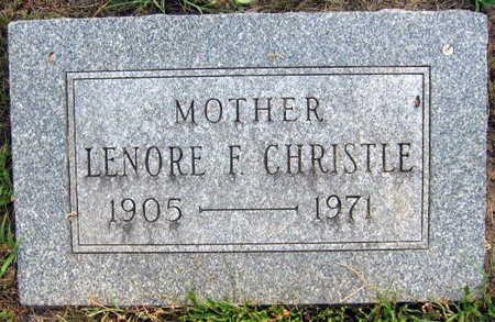 CHRISTLE, LENORE F. - Linn County, Iowa   LENORE F. CHRISTLE