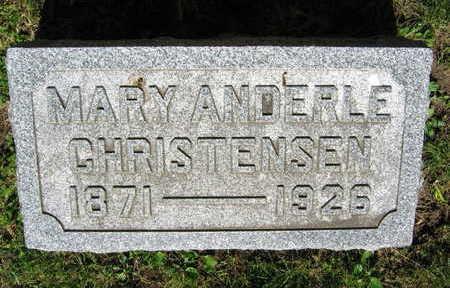 ANDERLE CHRISTENSEN, MARY - Linn County, Iowa | MARY ANDERLE CHRISTENSEN