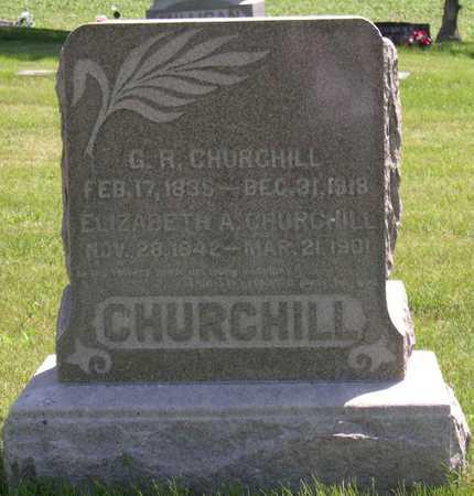 CHURCHILL, G. R. - Linn County, Iowa | G. R. CHURCHILL