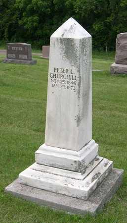CHURCHILL, PETER L. - Linn County, Iowa | PETER L. CHURCHILL