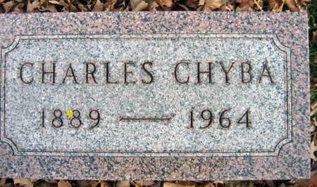 CHYBA, CHARLES - Linn County, Iowa | CHARLES CHYBA