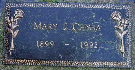CHYBA, MARY J. - Linn County, Iowa   MARY J. CHYBA