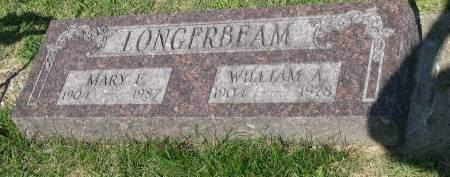 LONGERBEAM, WILLIAM A. - Linn County, Iowa   WILLIAM A. LONGERBEAM