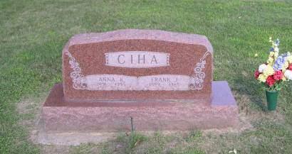 CIHA, ANNA - Linn County, Iowa | ANNA CIHA
