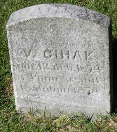 CIHAK, V. - Linn County, Iowa | V. CIHAK