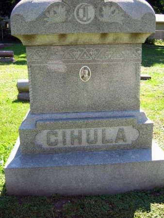 CIHULA, FAMILY STONE - Linn County, Iowa   FAMILY STONE CIHULA