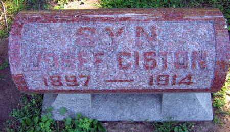 CISTON, JOSEF - Linn County, Iowa | JOSEF CISTON