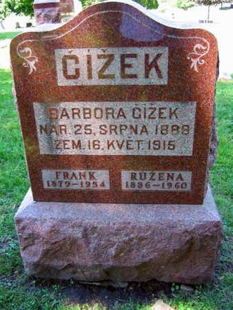 CIZEK, BARBORA - Linn County, Iowa | BARBORA CIZEK