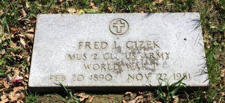 CIZEK, FRED L. - Linn County, Iowa | FRED L. CIZEK