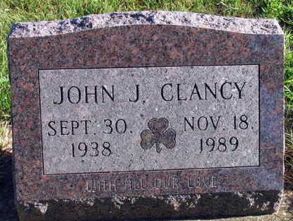CLANCY, JOHN J. - Linn County, Iowa   JOHN J. CLANCY