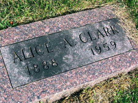 CLARK, ALICE A. - Linn County, Iowa | ALICE A. CLARK