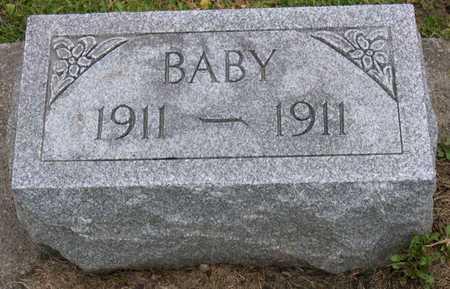 CLARK, BABY - Linn County, Iowa | BABY CLARK