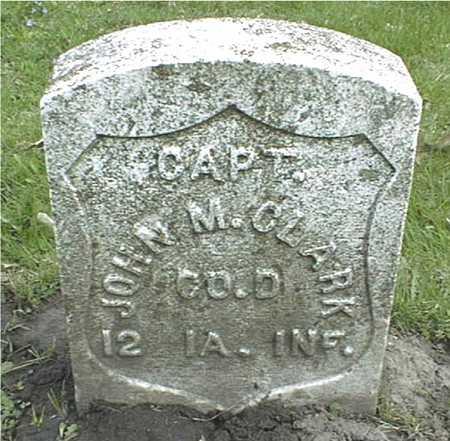 CLARK, CAPT. JOHN M. - Linn County, Iowa | CAPT. JOHN M. CLARK