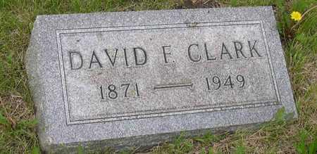 CLARK, DAVID F. - Linn County, Iowa   DAVID F. CLARK