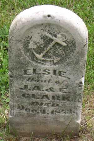 CLARK, ELSIE - Linn County, Iowa | ELSIE CLARK
