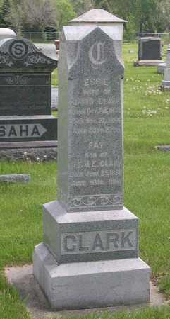 CLARK, FAY - Linn County, Iowa | FAY CLARK