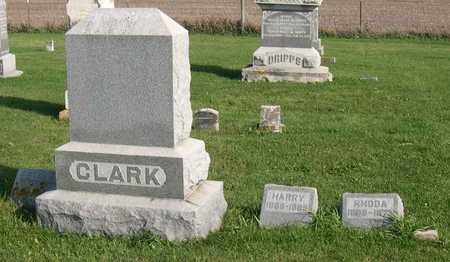CLARK, FAMILY STONE - Linn County, Iowa | FAMILY STONE CLARK
