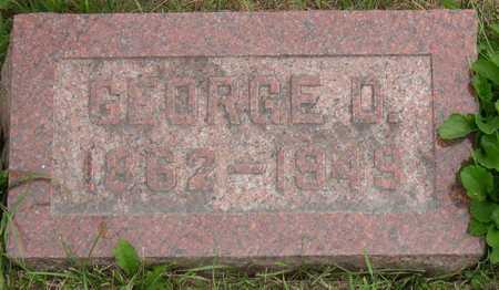 CLARK, GEORGE D. - Linn County, Iowa   GEORGE D. CLARK