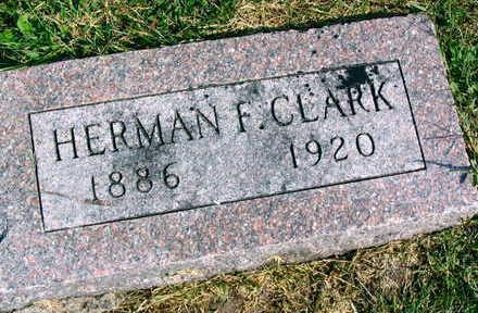 CLARK, HERMAN F. - Linn County, Iowa   HERMAN F. CLARK